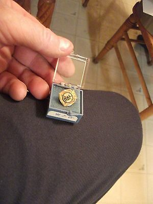 INVESTMENT TIME! Collectible1963 14K Gold Company Pin 3.4 Grams-BIN/BO
