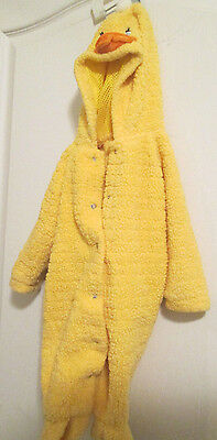 """Baby Duckling Duck Halloween Costume Infant Size 6-12 Months 29"""""""
