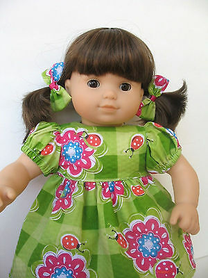 "Clothes for American Girl Bitty Baby Twin 15"" Doll Dress"