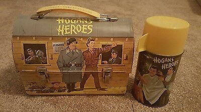 1966 Hogan's Heroes Metal Dome Lunchbox with Thermos
