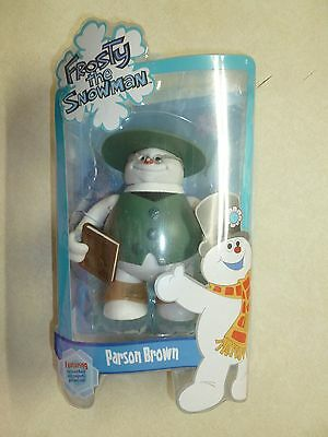 New Frosty the Snowman Family Parson Brown Forever Fun Action Figure Rare VHTF