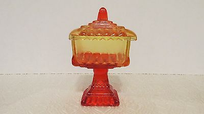 Jeanette Ombre Red #3412 Wedding Bowl & Cover