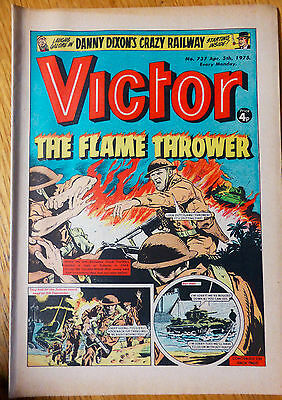 The Victor (UK Comic) - Issue #737 (5th April 1975)