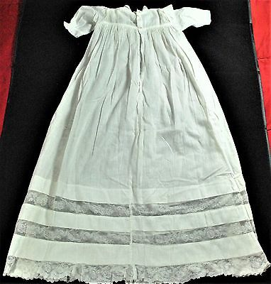 Vintage Christening Gown Handmade Baby Gown Outfit Clothing