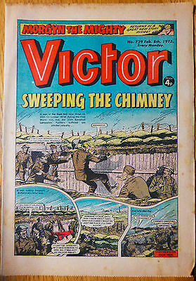 The Victor (UK Comic) - Issue #729 (8th February 1975)