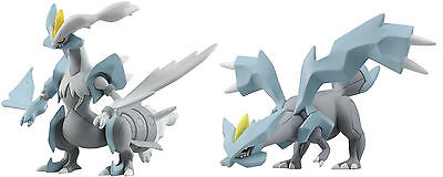 Takaratomy Pokemon MHP-02/MHP-03 Kyurem Hyper Size Action Figure Toys  Set of 2