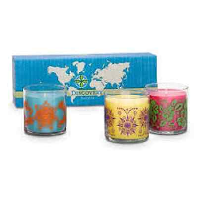 Discovery by Partylite Scented Candle Trio