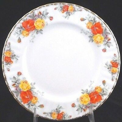 """PACIFIC ROSE Royal Albert Dinner Plate 10.25"""" Bone China NEW NEVER USED England"""