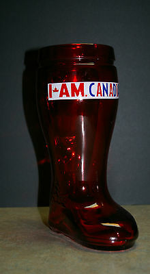 Molson Canadian Red 'das Boot' Beer Stein 32 Oz