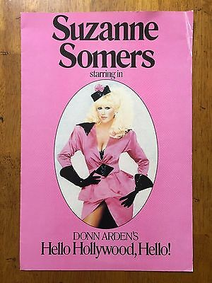 Suzanne Somers starring in Donn Arden's Hello Hollywood, Hello! program book