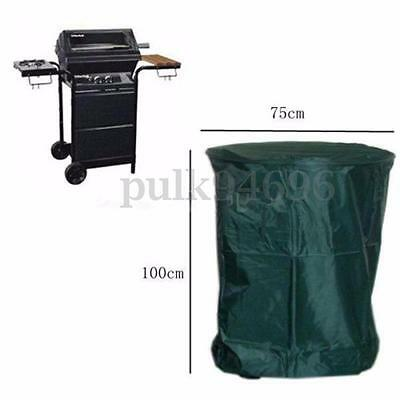 100x75cm Outdoor BBQ Barbecue Cover Waterproof Rain Snow Dust UV Protection AU