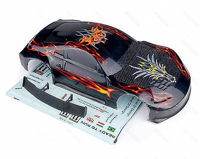 #12309 HSP 1/10 RC On Road Car Drifft Body Shell