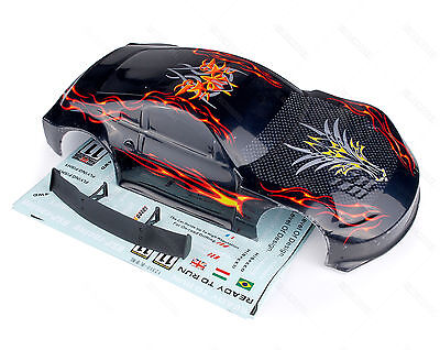 HSP 1/10 RC On Road Car Drifft Body Shell Part 12309