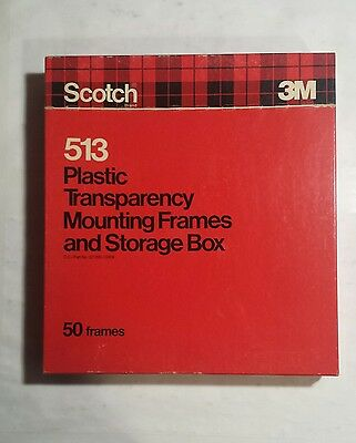 scotch overhead Transparency Mounting Frames