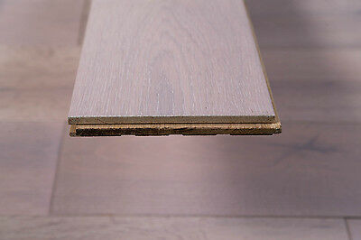 Trade Choice Solid White 18mm x 150mm Brushed and Oiled Wood Flooring