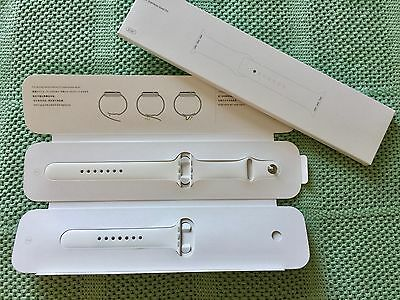 Apple Watch Sport Band | 42MM | White | S/M & M/L | MJ4M2FE/A