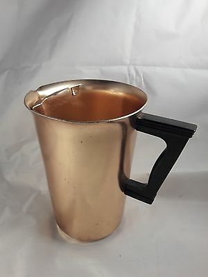 COLOR CRAFT ALUMINUM PITCHER WITH HANDLE 2 qt w/Ice Lip