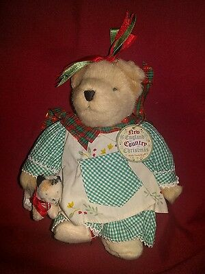 Cheap Muffy Vanderbear   New England Country Christmas   New Old Stock