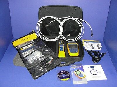 FLUKE NETWORKS MicroScanner2 Cable Verifier  GREAT CONDITION!