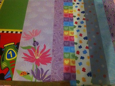 BULK Buy 150 pages of Scrapbooking papers High Quality Great Mix SAVE $$ SALE