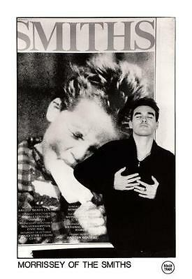 the SMITHS **POSTER**   Morrissey ROUGH TRADE Promo ad