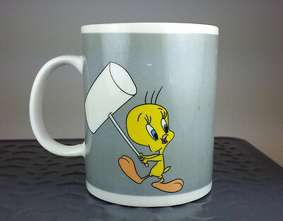 Looney Tunes Sylvester & Tweety Coffee Mug 2001 Pre-Owned Warner Brothers