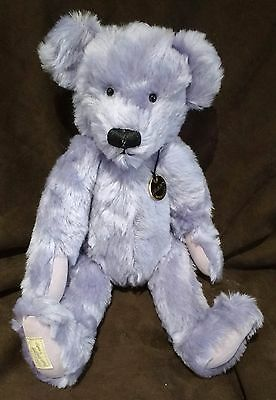 Deans Mohair Teddy Bear - Pale Purple - Steffi  - No 20 Of 100 - New With Tags