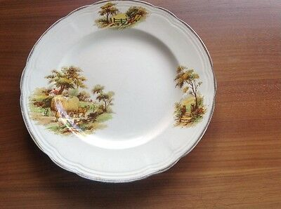 Alfred Meakin Plate - The Hayride