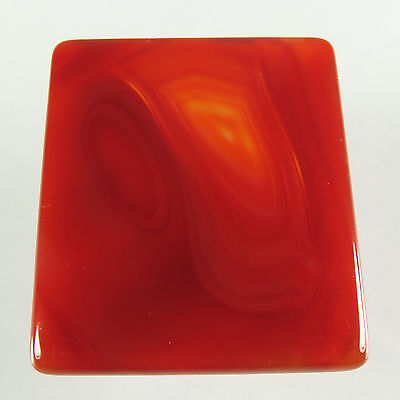Fabulous 52.20 Cts Real CARNELIAN Gemstone Rectangle Cabochon 36x32 mm Exporter