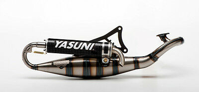 "Yasuni ""R"" sport exhaust for YAMAHA Aerox,Axis,Jog / APRILIA SR,Rally TUB902C"