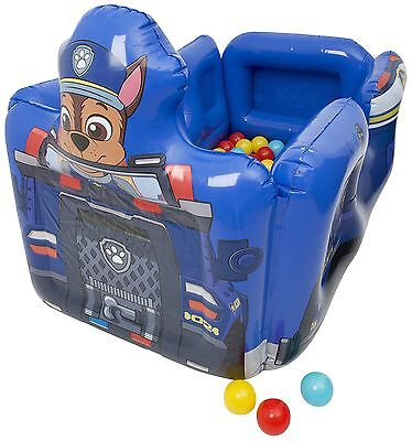 Paw Patrol Chase Inflatable Ball Pool Pit Childrens Police Car Bouncy Castle