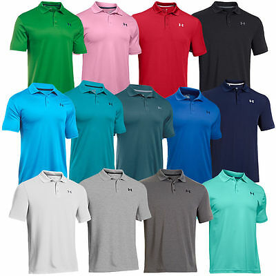 Under Armour 2017 UA Men's Performance Tech Short Sleeve Polo Shirt