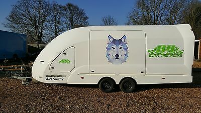 Brian James RS5 Race Shuttle Car Transporter Trailer for race, rally, track cars