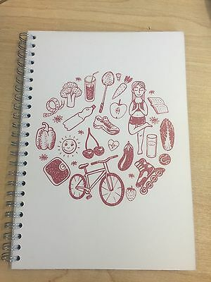 Slimming group style food diary 1 year A5 world wide