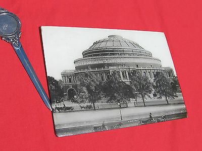 Photo Ancienne Londres Plaque De Verre Vers 1900  18X25 Albert Hall