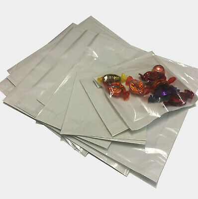 Film Front Paper Bags! | Cellophane/Window/Clear/Sandwich/Food/Card/Cake Clear