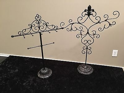Bracelet & Earring Display Stands - Lot of 8 Items:  PRICE REDUCED !!!