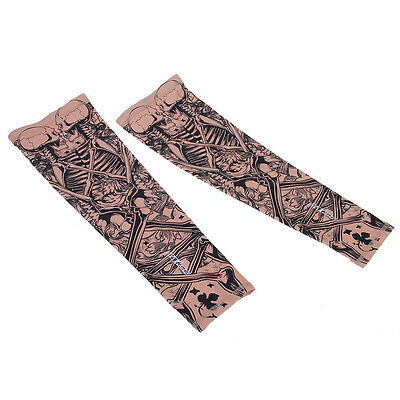 1 Pair Cycling Bicycle Sports Sun Protection Arm Sleeves