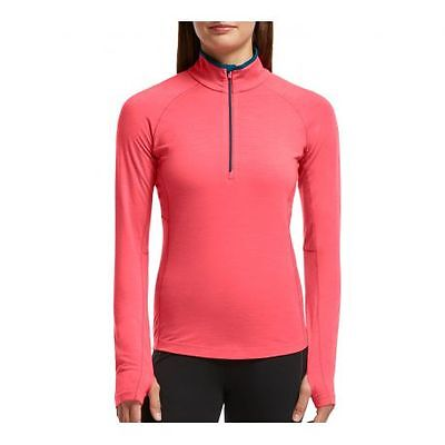 Sous-vêtement technique Zone Long Sleeve Half Zip en Mérinos - femme