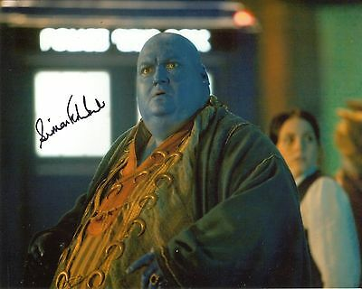 Simon Fisher Becker signed 8x10 DOCTOR WHO photo