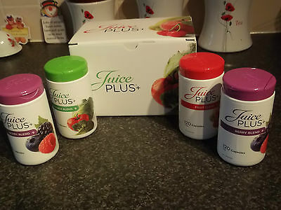 juice plus + Fruit blend 60 capsules 1 month weight management loss vitamins