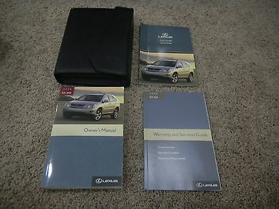 2008 Lexus Rx350 Owners Manual Set With Free Shipping