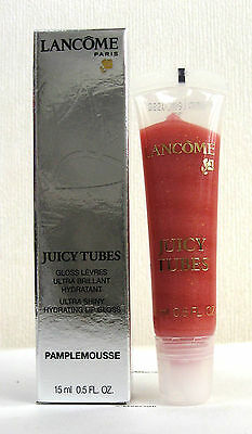 Lancome Juicy Tubes - Pamplemousse - 33 - FULL SIZE 15ml - New & Boxed