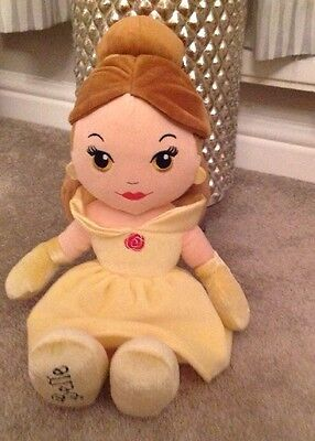 White House Leisure Disney Princess Belle Soft Toy 17 Inch
