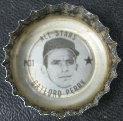 Vintage Coke Bottle Cap Gaylord Perry