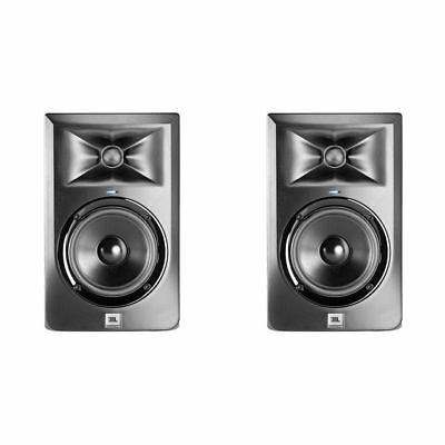 "JBL LSR305 Pair 5"" 2-Way Active Powered Studio Monitor Speakers 82 Watt"