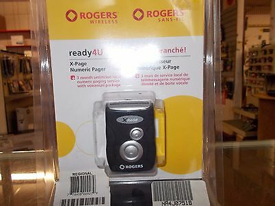 x page numeric pager / Rogers