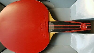 Joola Rossi table tennis blade and Mambo rubbers