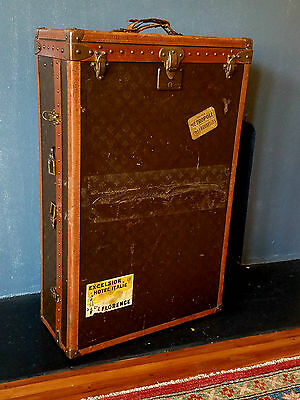 Vintage Louis Vuitton Dresser Trunk Beautiful Example for Dresses or Suits