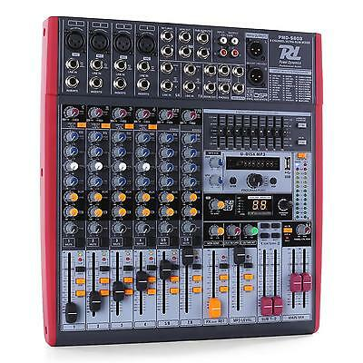 Power Dynamics PDM-S803 Table de mixage 8 pistes USB DSP MP3 8-kanaals mixer